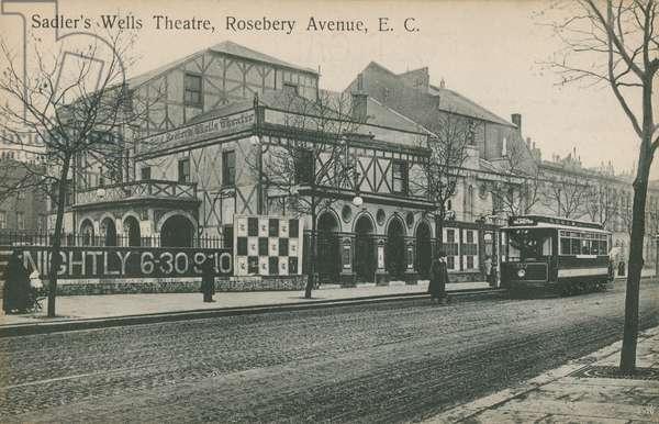 Sadler's Wells Theatre, Rosebery Avenue, London (photo)