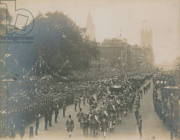 Procession for the Coronation of King Edward VII (photo)