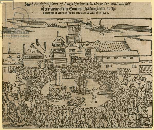 Execution of Anne Askew (engraving)