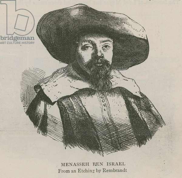 Menasseh Ben Israel (engraving)