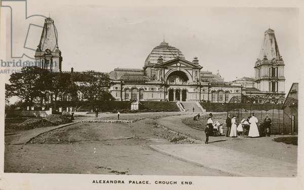 General view of Alexandra Palace (photo)