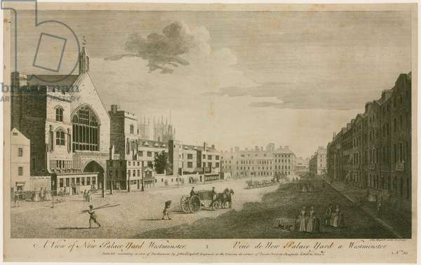 A View of New Palace Yard Westminster (engraving)