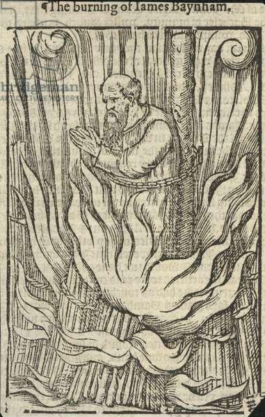The burning of James Baynham (engraving)