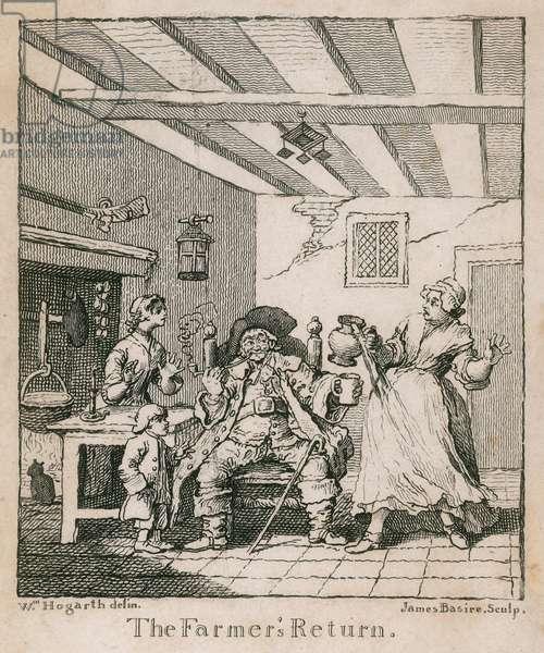 The Farmer's Return (engraving)