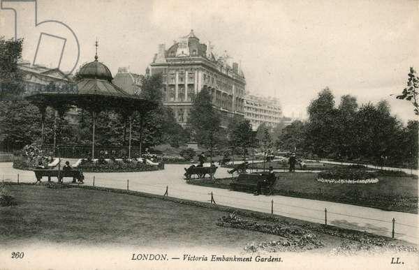 Victoria Embankment Gardens, London (photo)