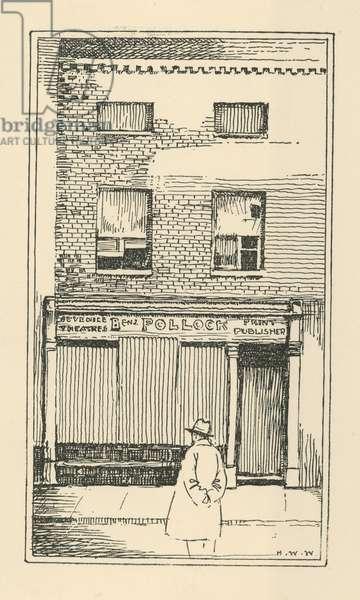 Benjamin Pollock Print Publisher (engraving)