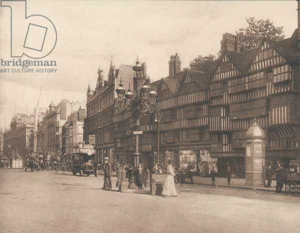 Staple Inn, Holborn, London, early 20th century (photo)