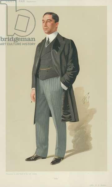 Mr Emmanuel Raphael Belilios (colour litho)