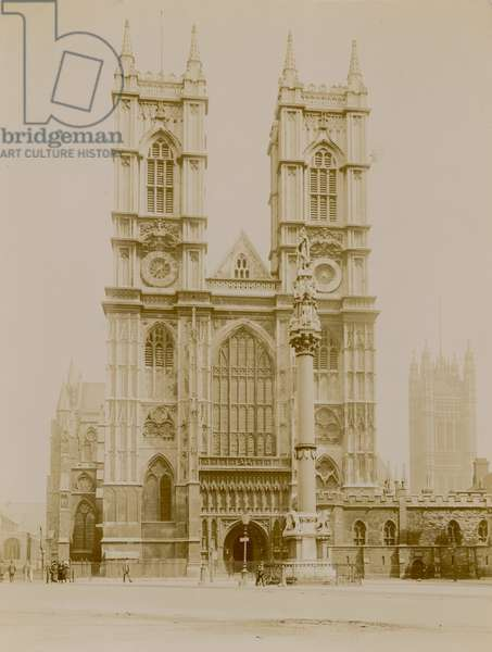 General view of Westminster Abbey (photo)
