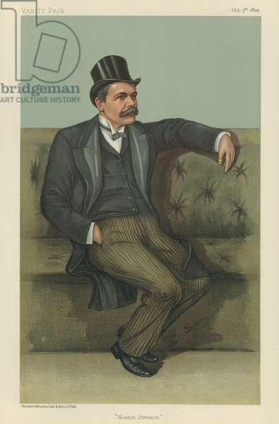 Doctor James Stuart (colour litho)