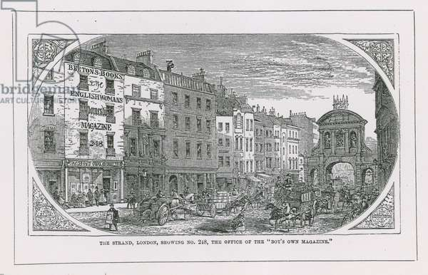 Office of the Boy's Own Magazine (engraving)