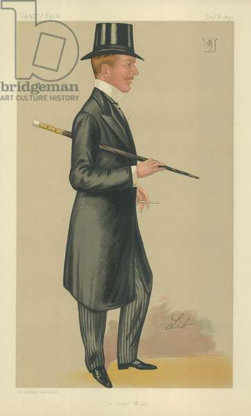 Sir James Percy Miller (colour litho)