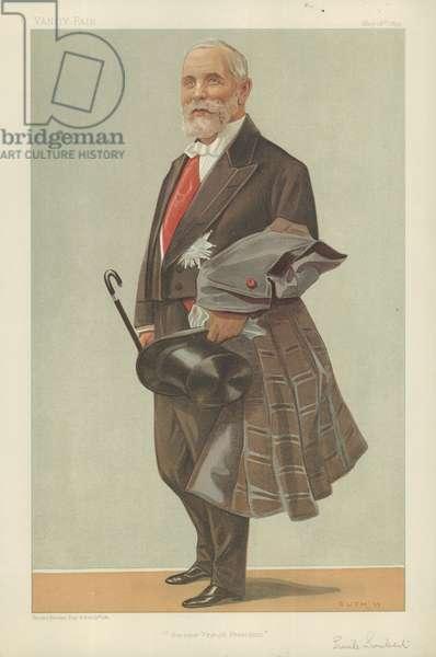 Emile Loubet, The President of the French Republic (colour litho)