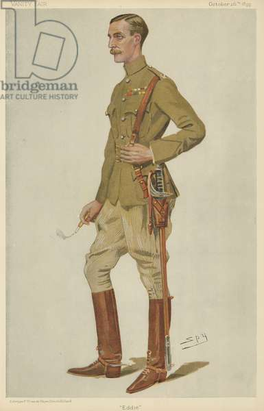 Edward James Montagu-Stuart-Wortley (colour litho)