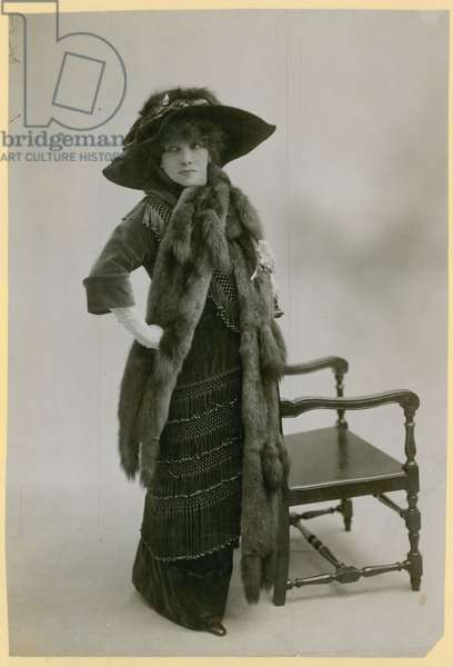 Sarah Bernhardt, actress (photo)