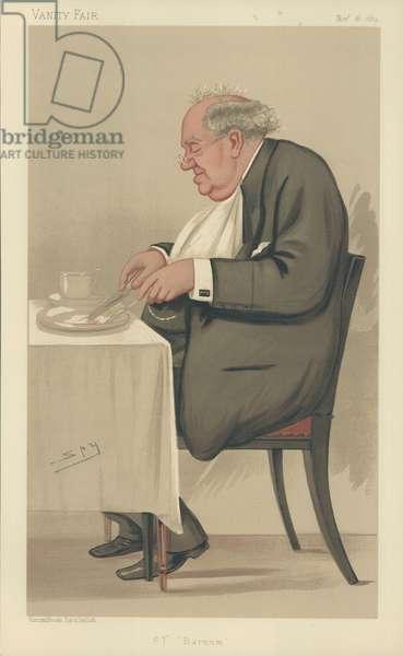 Mr P T Barnum (colour litho)