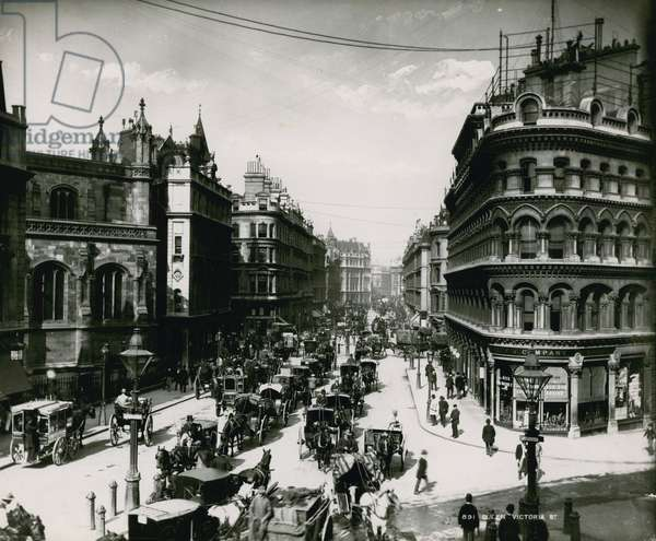 Queen Victoria Street, London (photo)