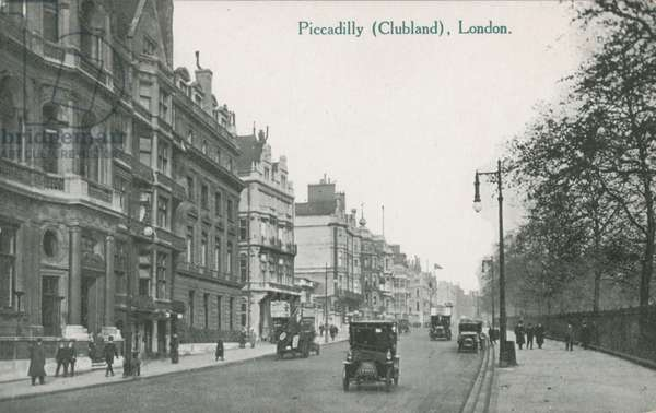 Piccadilly, London - Clubland (photo)
