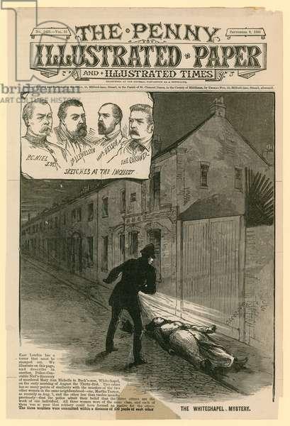 Murder of Mary Ann Nichols (engraving)
