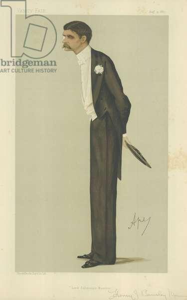 Mr Henry John Brinsley Manners (colour litho)