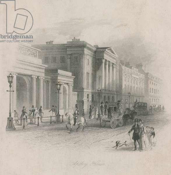 Apsley House, Hyde Park Corner, London (engraving)