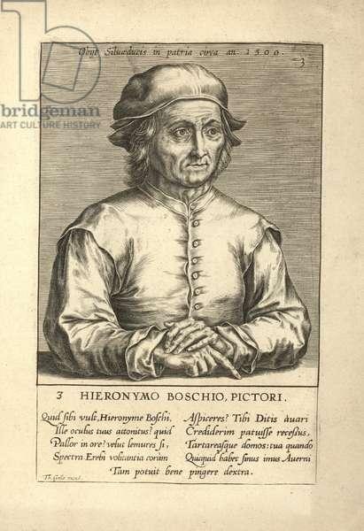 Hieronymus Bosch, painter (engraving)