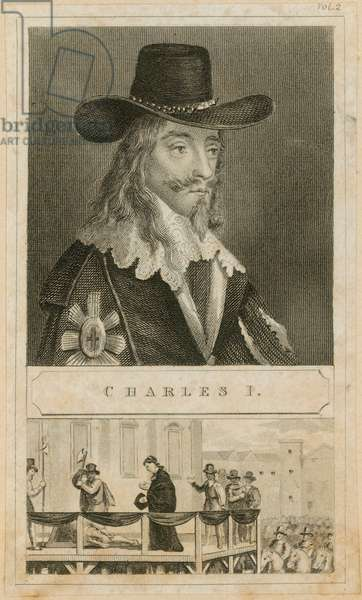 Portrait of King Charles I (engraving)