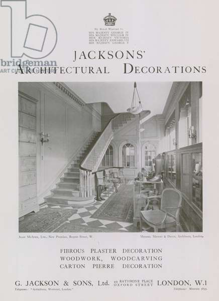 Jackson's Architectural Decorations (photo)
