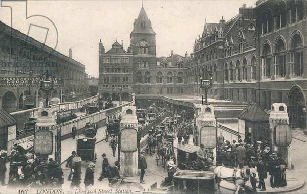 Liverpool Street station, London (photo)