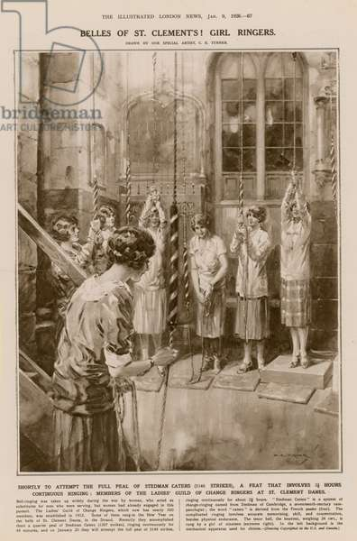 Belles of St Clements (litho)
