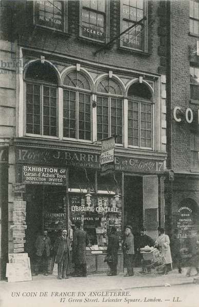 French Bookshop, 17 Green Street, Leicester Square, London (photo)