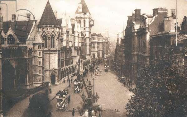 The Law Courts, Fleet Street (photo)