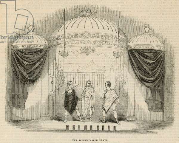 The Westminster Plays (engraving)