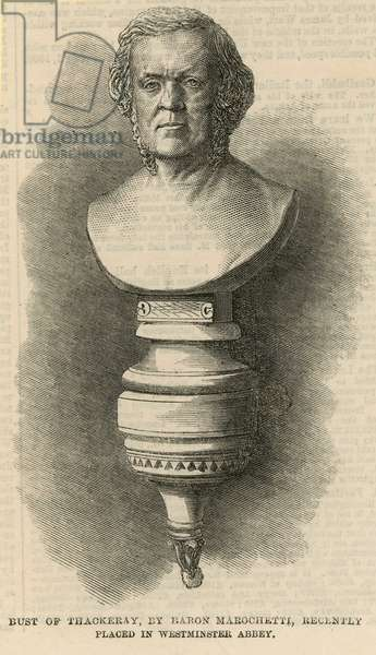 Bust of Thackeray (engraving)