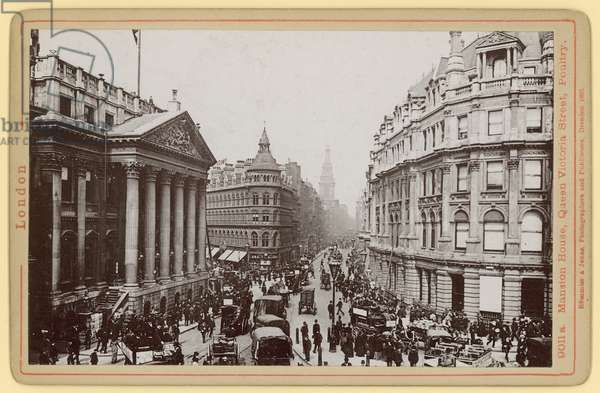 Mansion House, Queen Victoria Street, Poultry, London (photo)