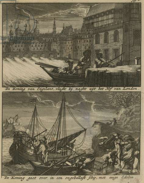 The Escape of King Charles I (engraving)