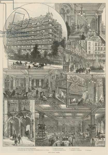 The Savoy Hotel (engraving)
