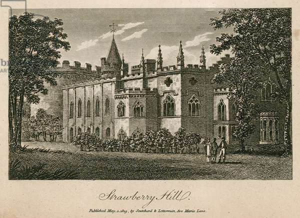 Strawberry Hill, London (engraving)