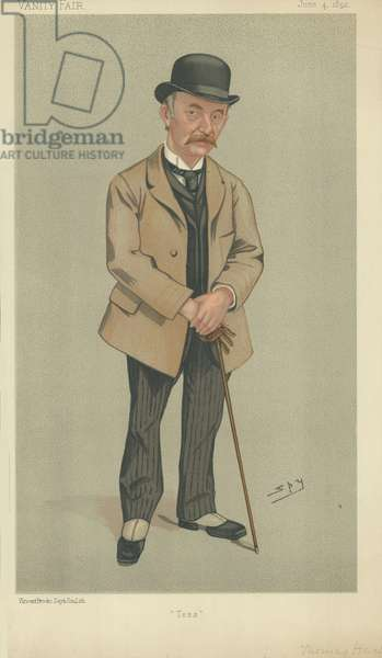 Mr Thomas Hardy (colour litho)