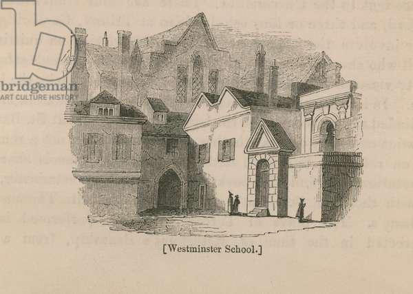 Westminster School (engraving)