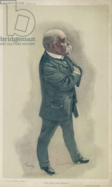 Georges Clemenceau (colour litho)