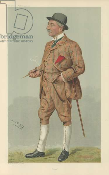 Sir Peter Carlaw Walker (colour litho)
