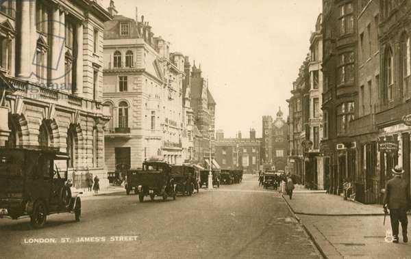 St James's Street, London (photo)