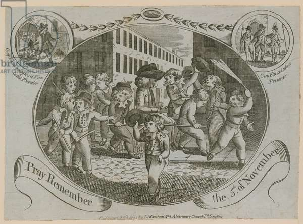 Pray Remember the 5th of November (engraving)