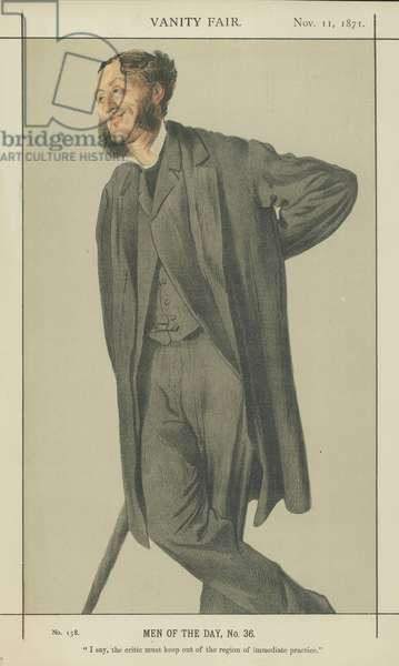 Mr Matthew Arnold (colour litho)