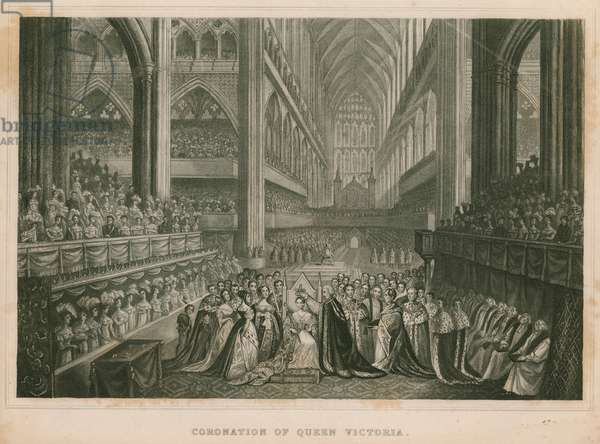 Coronation of Queen Victoria (engraving)