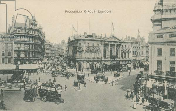 Piccadilly Circus, London (photo)
