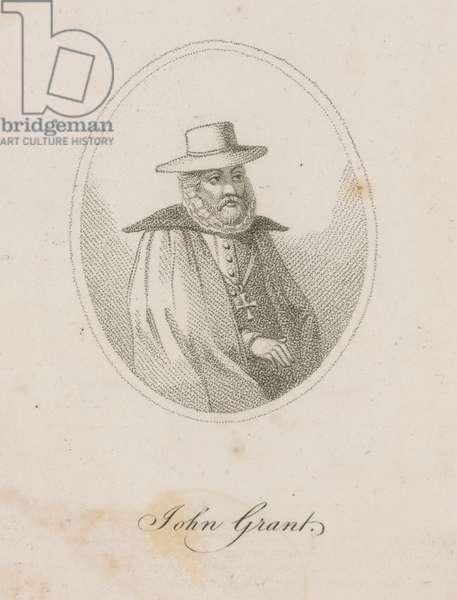 John Grant, a member of the Gunpowder Plot (engraving)