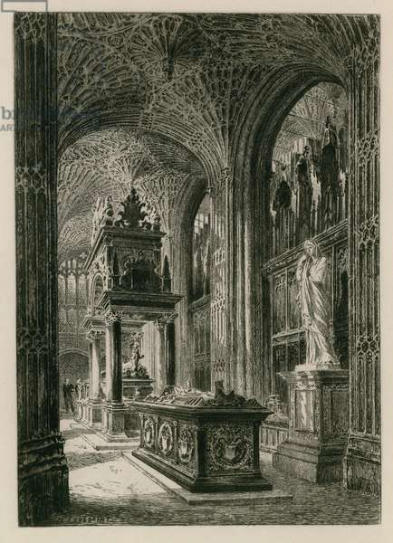 Interior of Westminster Abbey (engraving)