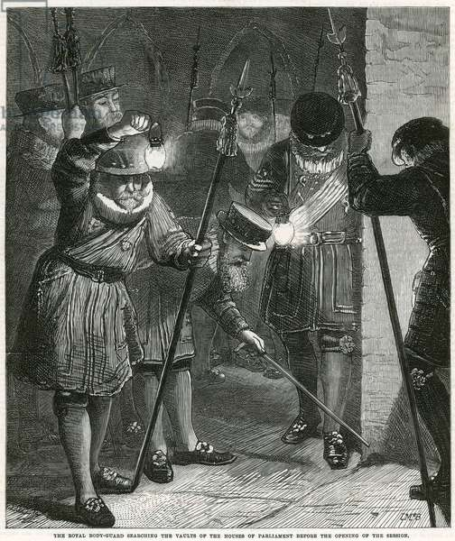 The Gunpowder Plot (engraving)